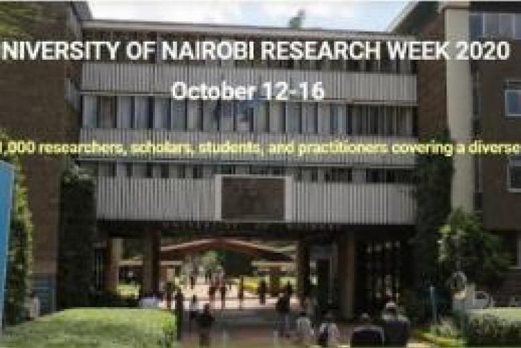Research Week, UoN, University of Nairobi, Research, 2020